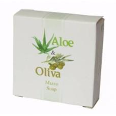 Мыло 25 г в картоне, группа «экстра»,  (Серия «Aloe & Oliva»)