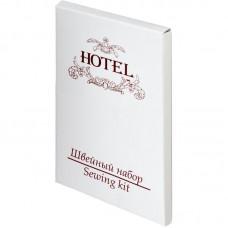 """Швейный набор в картоне (нитки, иголка, пуговицы, булавка), (Серия """"HOTEL"""")"""
