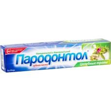 """Зубная паста """"Пародонтол"""" целебные травы, 124г"""