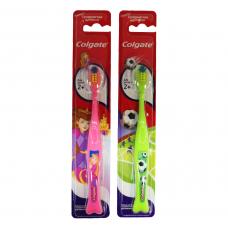 """Зубная щетка """"Colgate"""" для детей 2+, с супермягкими щетинками"""