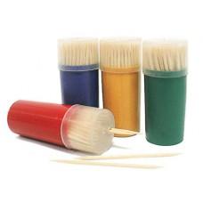 Зубочистки в пенале, 100шт