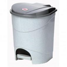 Контейнер для мусора с педалью 11л, цвет в ассортименте