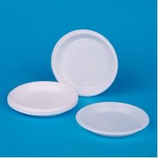 Тарелка одноразовая, белая,1шт