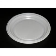 Тарелка десертная, одноразовая, белая, 1 шт