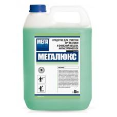 Мегалюкс. Средство для очистки оргтехники и офисной мебели антистатическое, 5л (канистра)
