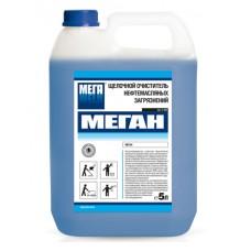 Меган. Щелочной очиститель нефтемасляных загрязнений, 5л (канистра)