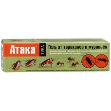 "Гель ""АТАКА "" от тараканов и муравьев, 75мл"