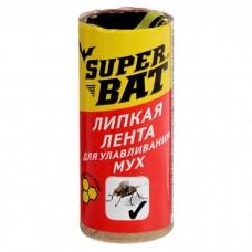 Липкая лента Super Bat от мух, 1шт