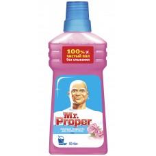 """Моющая жидкость Mr.Proper """"Роза"""" для полов и стен, 0,5л"""