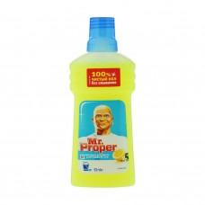 """Моющая жидкость Mr.Proper """"Лимон"""" для полов и стен, 0,5 л"""