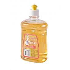 """Жидкое средство для мытья посуды """"Милая"""", дыня, 500мл."""