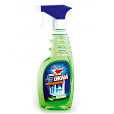 """Средство """"Чистые окна"""" для мытья стекол """"Золушка"""", зеленое яблоко, 500мл."""