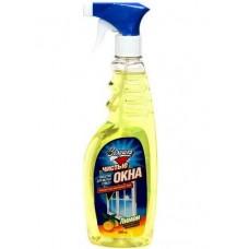 """Средство """"Чистые окна"""" для мытья стекол """"Золушка"""", лимон, 500мл."""