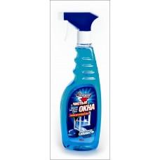 """Средство """"Чистые окна"""" для мытья стекол """"Золушка"""", морская свежесть, 500мл."""