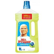 """Моющая жидкость Mr.Proper """"Лайм и мята"""" для полов и стен, 1л"""
