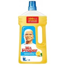 """Моющая жидкость Mr.Proper """"Лимон"""" для полов и стен, 1л"""