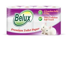 "Бумага туалетная ""Belux Classic"" 3 слоя, 8 рулонов (18м), белая"