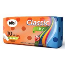 Bibi прокладки, Classic Maxi Dry ,10 шт, 5 капель.