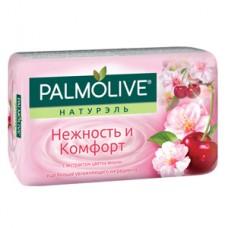 """Мыло  Palmolive Натурэль """"Нежность и Комфорт"""" с экстрактом цветка Вишни, 90г, 1 шт"""