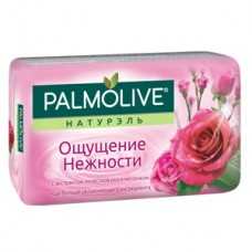 """Мыло Palmolive """"Ощущение Нежности"""" с экстрактом лепестков роз и молочком, 90г, 1 шт"""