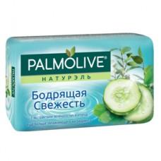 """Мыло Palmolive Натурэль """"Бодрящая Свежесть"""" с экстрактами зеленого чая и огурца 90г, 1 шт"""