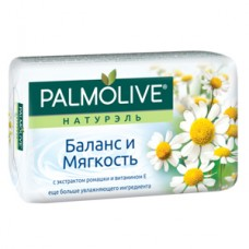 """Мыло Palmolive Натурэль """"Баланс и Мягкость"""", с экстрактом ромашки и витамином Е, 90 г, 1шт"""