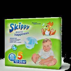 Подгузники для детей Skippy More Happiness, р-р 5 (12-25кг), 60 шт