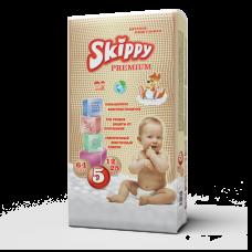 Подгузники для детей Skippy Premium, р-р 5 (12-25 кг.), 64 шт